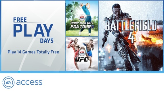 EA ohlásilo EA Access Free Play Days