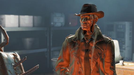 Pozoruhodný cosplay Nick Valentine z Fallout 4