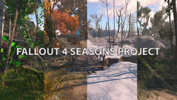 4 ročné obdobia vo Fallout 4 vďaka modu
