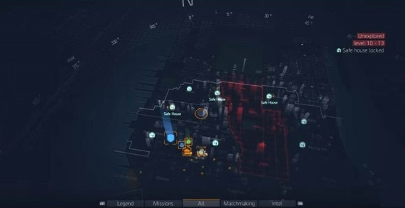 Ak� ve�k� je mapa v The Division?