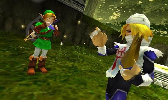 Jeden z hráčov si zahral Ocarina of Time pomocou skutočnej okaríny