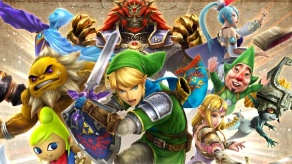 10 min�t novej hrate�nosti z Hyrule Warriors Legends