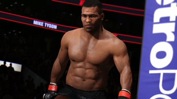 Mike Tyson vstupuje do ringu v UFC 2