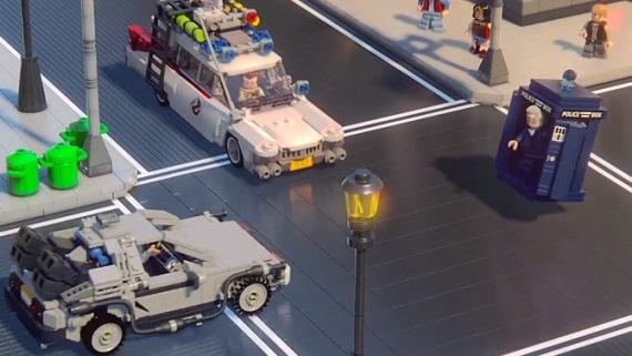 Trojica doktorov v kraťase z LEGO Dimensions