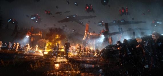 Final Fantasy XV ukazuje boj o Niflheim