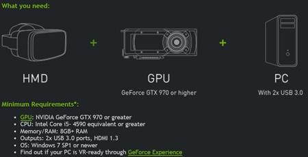 Nvidia zav�dza ozna�enie VR Ready