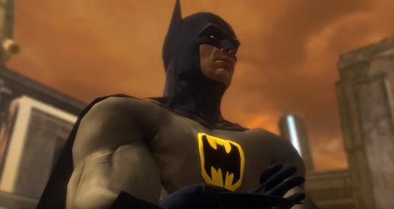 Z�bery zo zru�enej hry superhrdinov Justice League