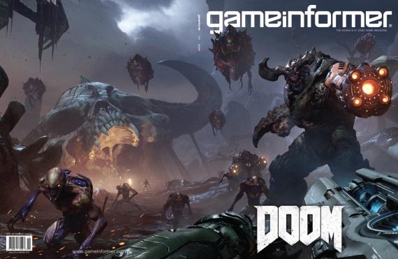 Nov� Gameinformer si zobral na mu�ku Dooma