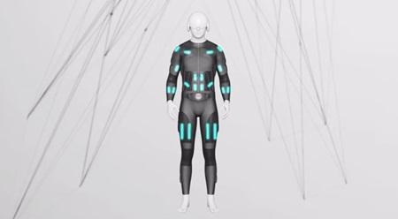 Teslasuit, priliehavý oblek s elektrostimulmi doplní Oculus Rift