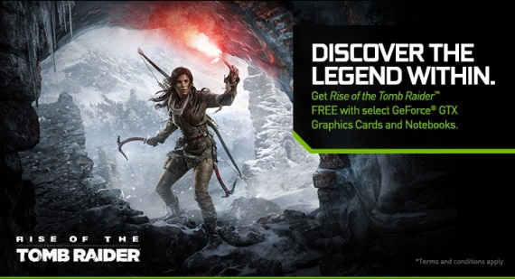 Nvidia ofici�lne potvrdila bundle Rise of the Tomb Raider s ich kartami
