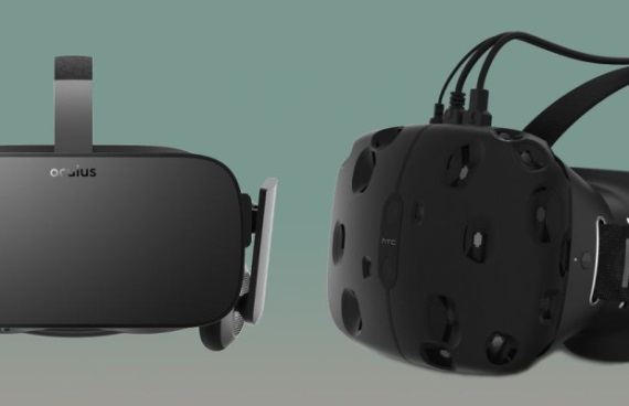 Porovnanie Oculus Rift vs HTC Vive