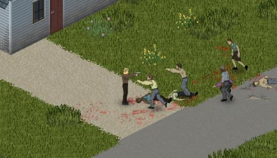 Simul�tor Zombie apokalypsy bez prepadov fps? 9 z 10 zomb�kov odpor��a Project Zomboid
