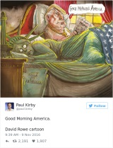 Trump a Amerika