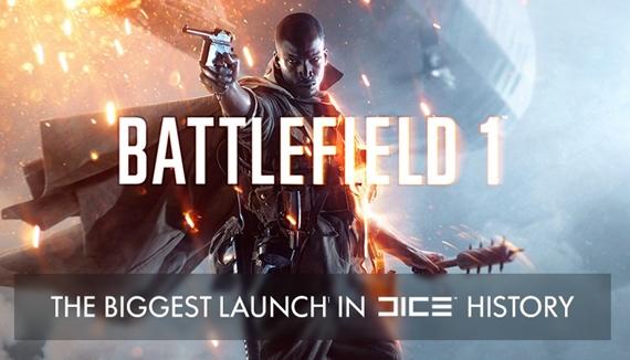 Battlefield 1 mal najväčší launch z hier od DICE