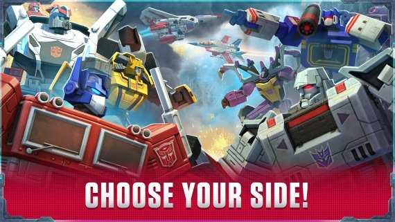 Transformers: Earth Wars, nov� mobiln� strat�gia zo zn�meho univerza