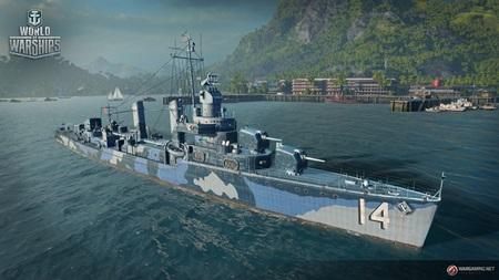 World of Warships s novými loďami a oddeleným režimom pre tímy