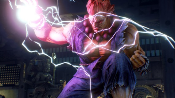 Akuma z Tekken 7: Fated Retribution sa ukazuje v boji