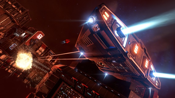 Na Steam dorazila Elite Dangerous: Arena
