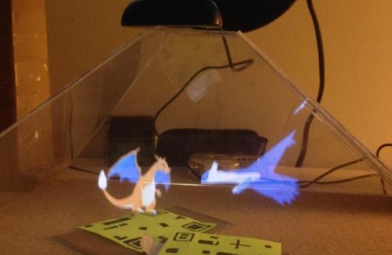 Pozrite sa na Pok�monov o��vaj�cich v holografickej projekcii