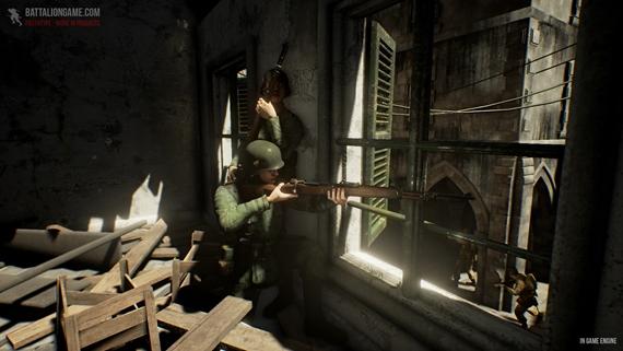 Vývojári Battalion 1944 už zápasia s výkonom Xbox One a PS4