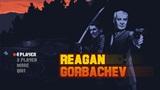 Reagan Gorbachev rozohráva akciu s prezidentmi z obdobia studenej vojny