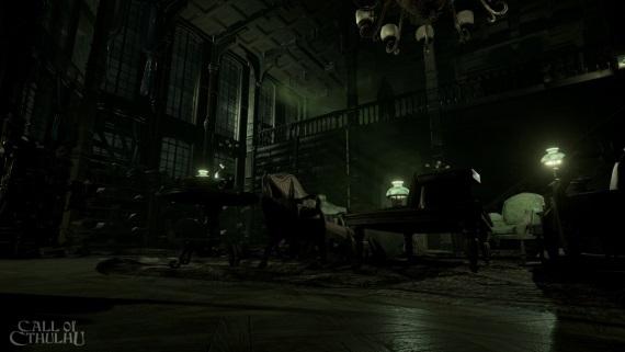 Call of Cthulhu vyjde budúci rok, prvé dva obrázky zobrazujú temnú atmosféru