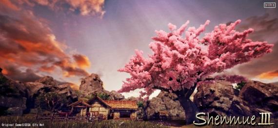 Zábery na prostredia v Shenmue 3