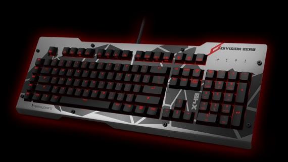 Das Keyboard prich�dza s novou hernou kl�vesnicou a my�ou
