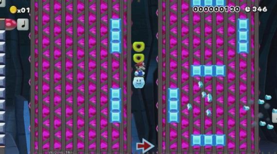 Niekto vytvoril v Super Mario Maker funk�n� kalkula�ku