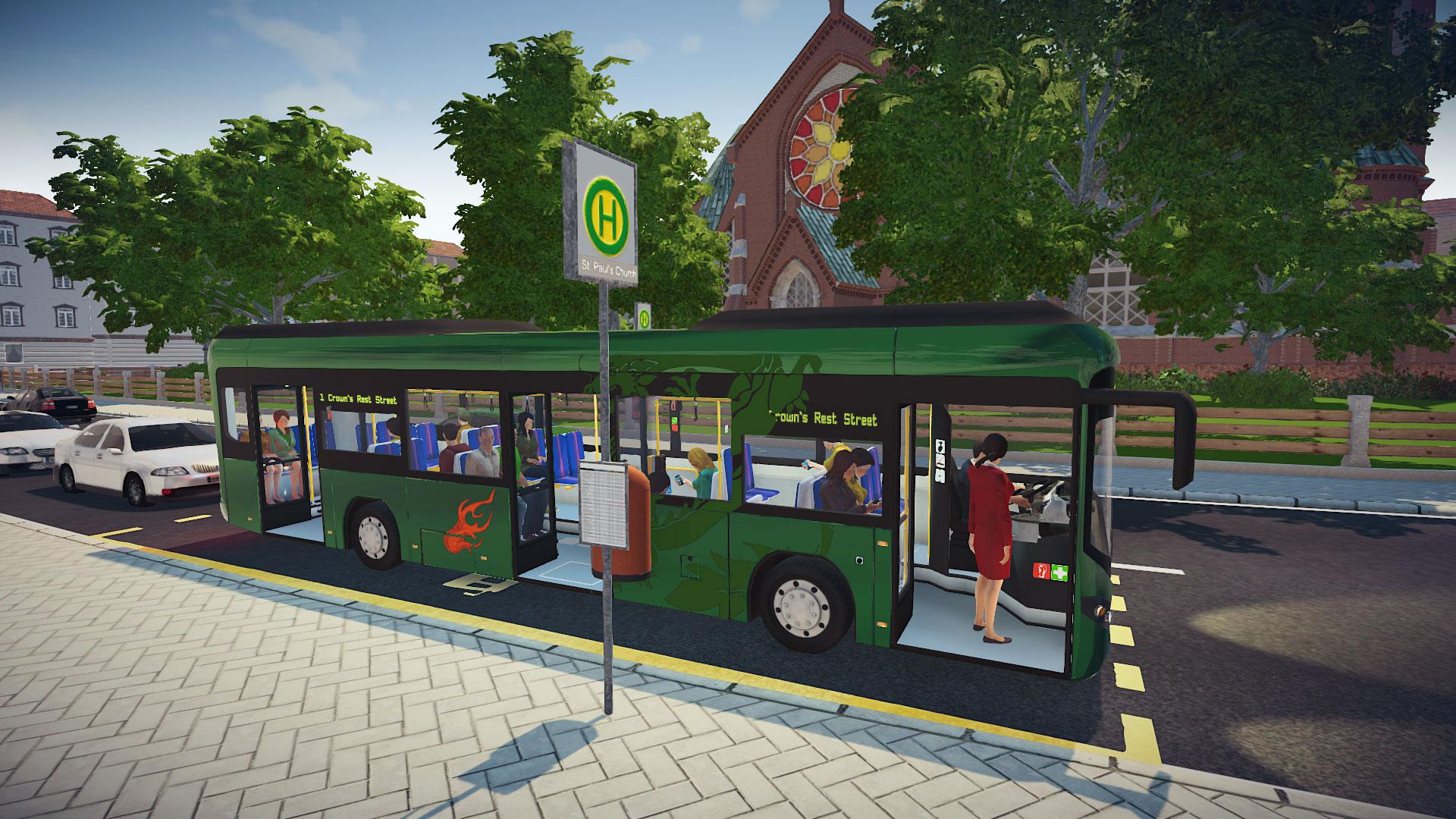 Bus Simulator 16 ( PC ) hra od Astragon   Sector