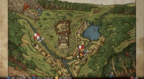 Ako vyzer� mapa prostredia Kingdom Come?