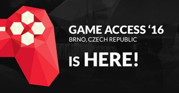 Do Brna zav�ta konferencia Game Access '16