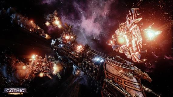 Battlefleet Gothic: Armada u� m� po�iadavky na PC