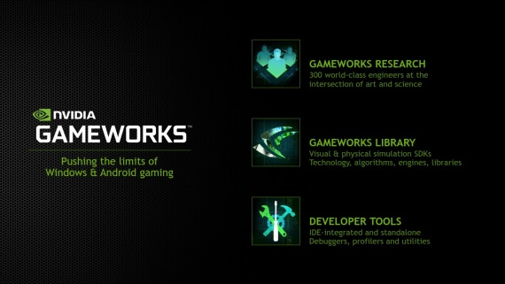 NVIDIA Gameworks SDK 3.1 predstaven�