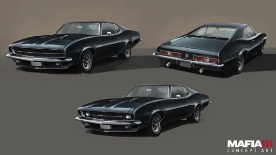 Mafia III art n�m ukazuje Lincolnovo auto