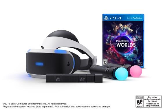 Playstation VR dost�va kompletn� ed�ciu, bude st� 499 dol�rov