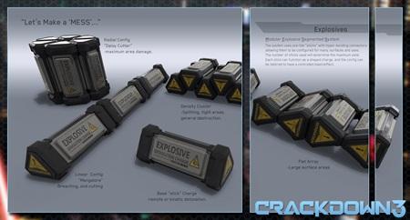 Crackdown 3 ukazuje explózie sudov