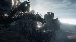 Lost Pisces ukazuje zábery, vyzerá ako futuristický Shadow of Colossus