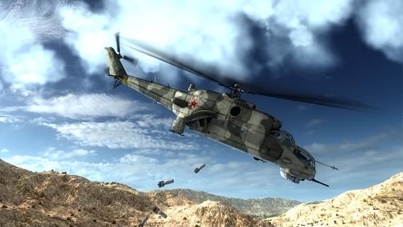 Slov�ci vypustili na Steame svoj vrtu�n�k v hre Air Missions: HIND