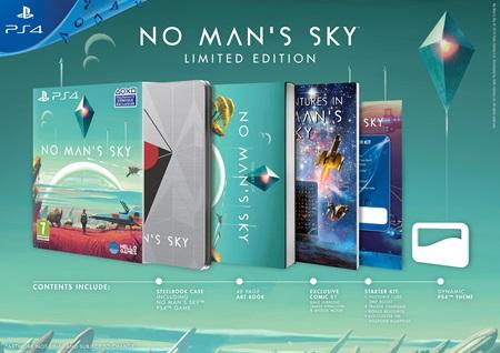 No Man's Sky dostane na PC explorer ediciu za 150 dolárov, PS4 dostane limitku