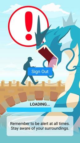 Ukážka z bety Pokémon Go