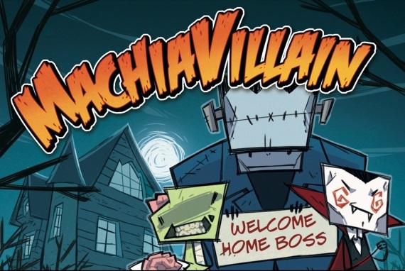 MachiaVillain alias va�a vlastn� star� hororov� vila