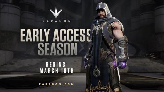 Paragon je pripravený spustiť early access