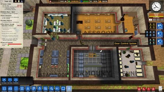 Prison Architect obsahuje skrytý 3D mod