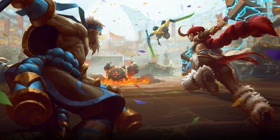 Battlerite pripravuje tímové bitky v arénach