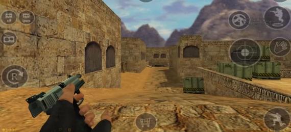 Zahrajte si Counter Strike 1.6 aj na androide