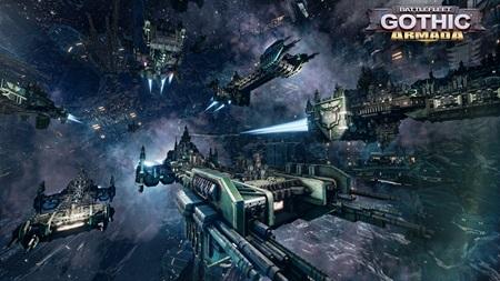 Battlefleet Gothic Armada dostane Space Marines frakciu zadarmo