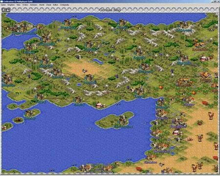 História série Civilization