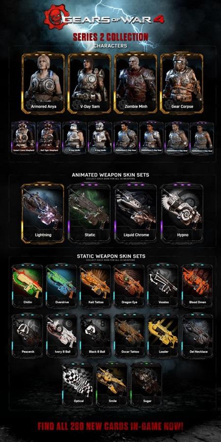 Gears of War 4 dostáva nový update, pridáva dve mapy a 280 kariet