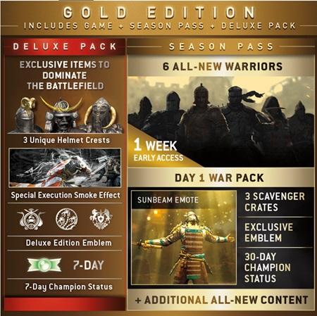 Season Pass pre For Honor naznačil nových bojovníkov